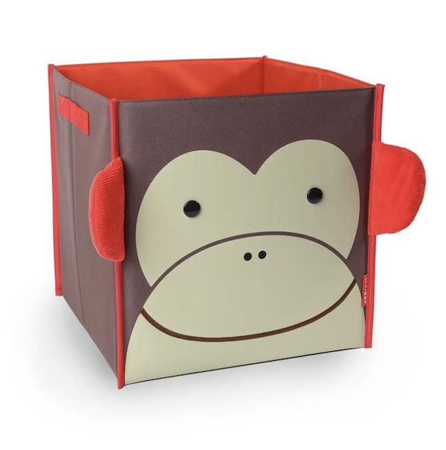 Organizador de Brinquedos Quadrado Skip Hop Zoo Macaco