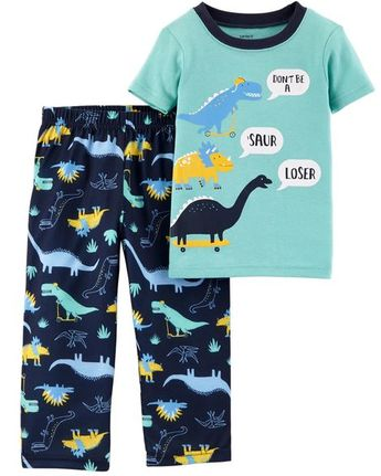 Pijama Dinossauro com Patinete Carter's