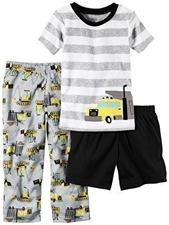 Pijama Kit c/3 peças Caminhão Carter's