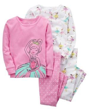 Pijama Kit c/4 peças Bailarina Carter's
