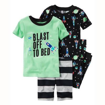 Pijama Kit c/4 peças Blast off to Bed Carter's