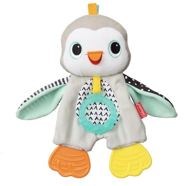 Pinguim Brinquedo Mordedor Infantino 0M+