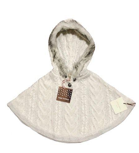 Poncho de Lã Cynthia Rowley