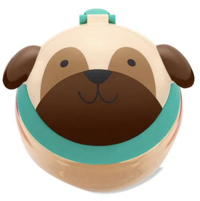 Porta Biscoitos Skip Hop Zoo Cachorro Pug