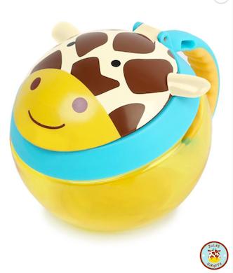Porta Biscoitos Skip Hop Zoo Girafa