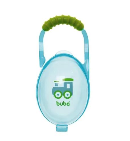 Porta Chupetas Azul Buba
