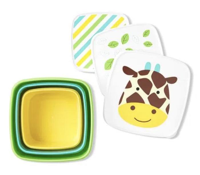 Porta Snacks Skip Hop Kit Girafa