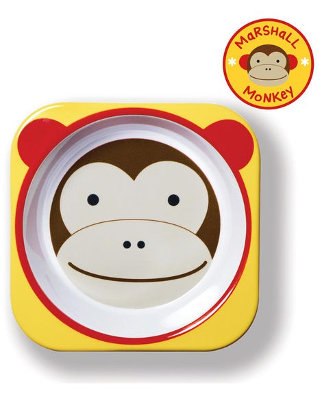 Prato Pequeno Skip Hop Zoo Macaco