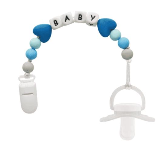 Prendedor de Chupetas Baby Buba Azul