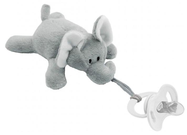 Prendedor de Chupetas Buba Baby Meu Elefante