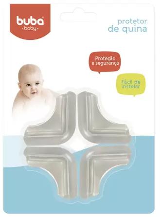 Protetor de Quina Buba Baby c/4