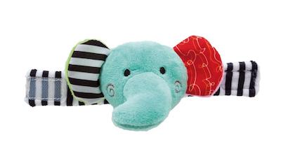 Pulseirinha Chocalho Buba Baby Happy Zoo Elefante
