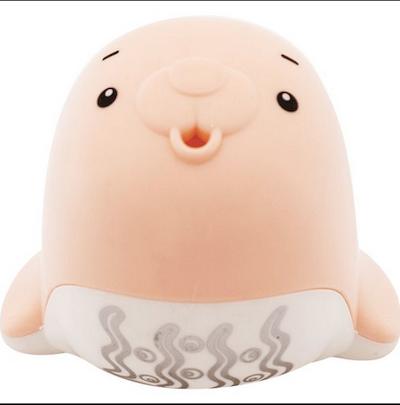 Regador de Banho Buba Baby Foca Rosa