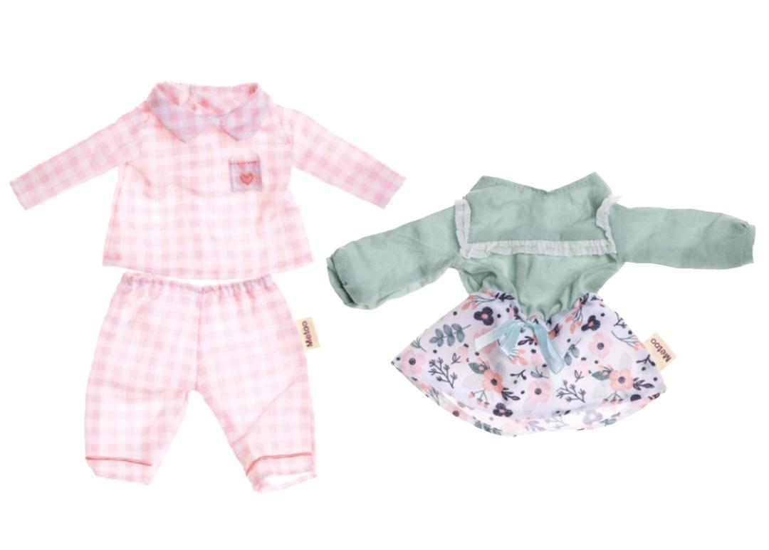 Roupas Metoo Kit com Pijama e Conjunto Floral