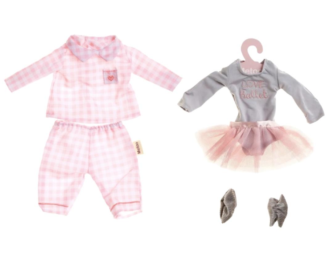 Roupas Metoo Kit com Pijama e Fantasia Bailarina