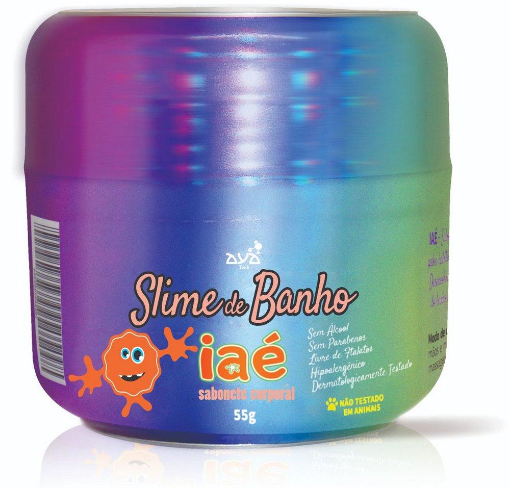 Sabonete Slime Iaé Laranja