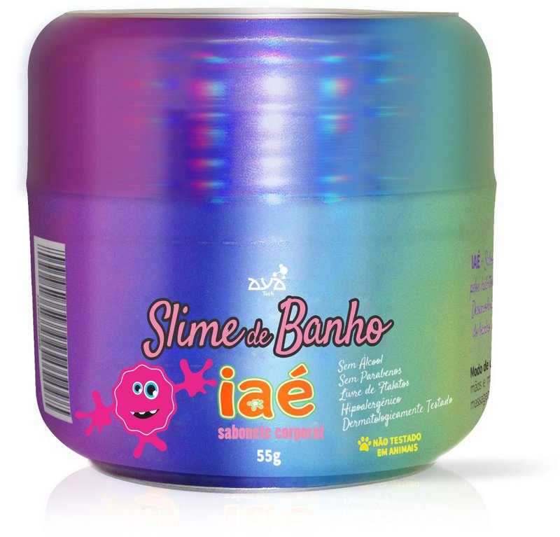 Sabonete Slime Iaé Rosa
