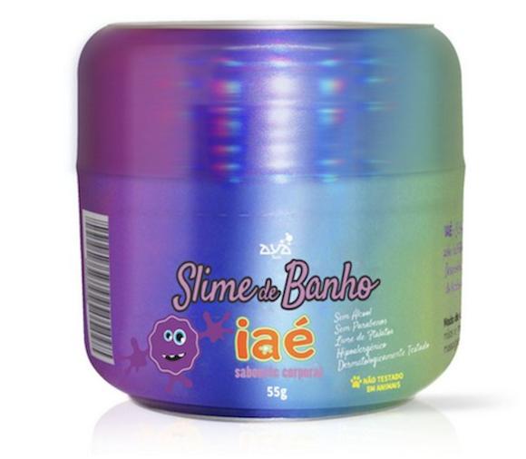 Sabonete Slime Iaé Roxo
