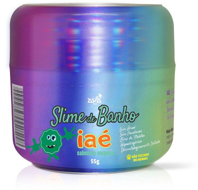 Sabonete Slime Iaé Verde
