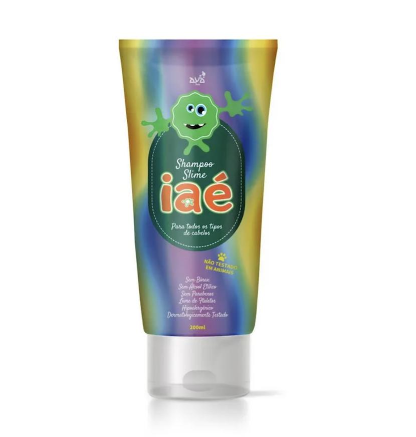 Slime Shampoo Iaé Verde