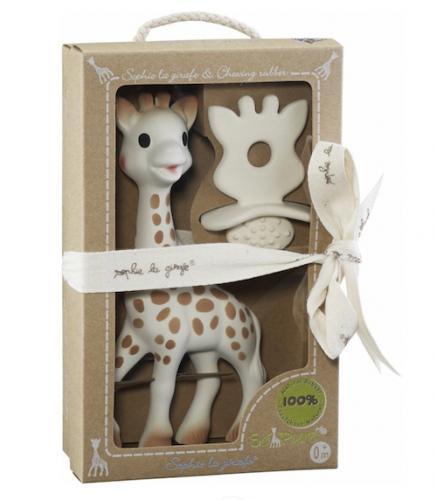 Sophie La Girafe Kit com Girafa e Mordedor Chupeta Vulli