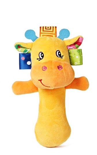Sozzy Chocalho Girafa Pelúcia