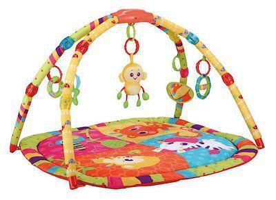 Tapete de Atividades Mastela Colorido Macaco Sons e Luzes