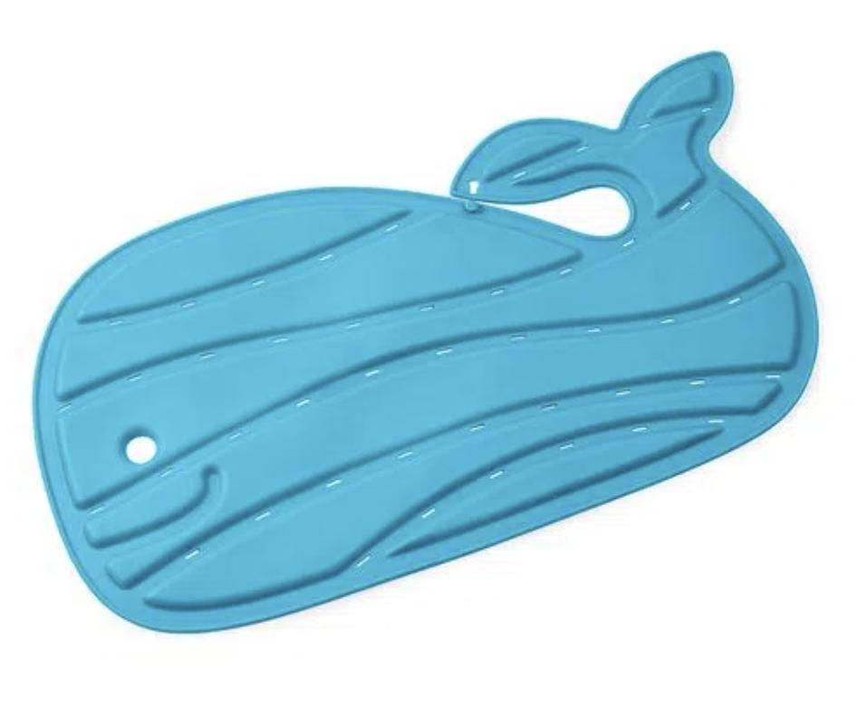 Tapete de Banho Skip Hop Baleia Moby Azul