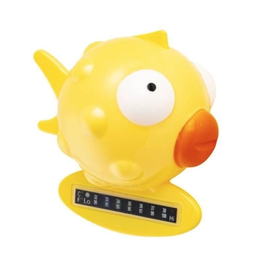 Termômetro de Banho Peixinho Amarelo Clingo