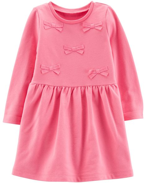 Vestido Lacinhos Pink Carter's