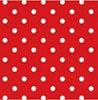 Mini Poá fundo vermelho - Cor 06