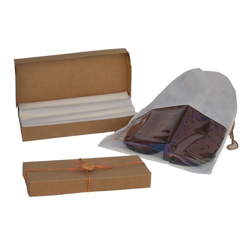 Kit Saco de Sapato Masculino - 4 Peças para presente