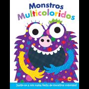 Coleção Dedoches - Monstros Multicoloridos