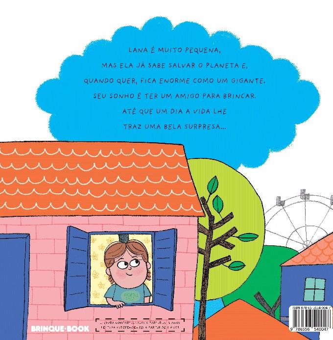 A Pequena Lana  - Grupo Brinque-Book