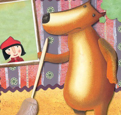 A Verdadeira História de Chapeuzinho Vermelho  - Grupo Brinque-Book