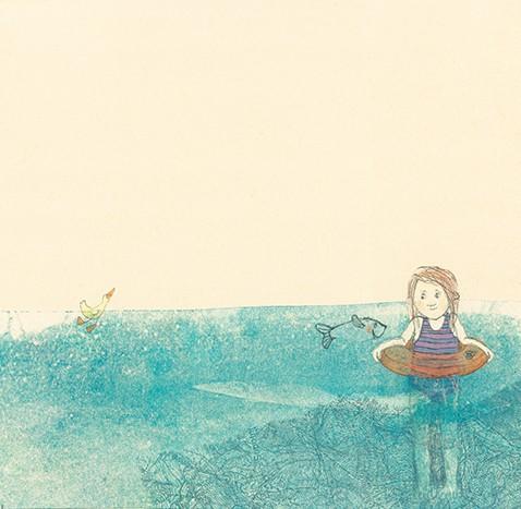 Amélia e o peixe  - Grupo Brinque-Book