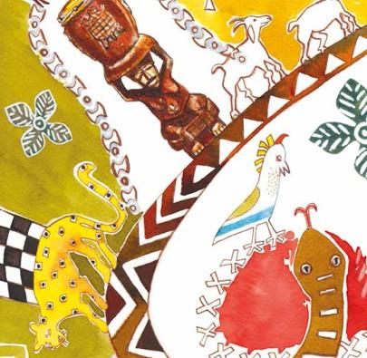 Aminata, a Tagarela  - Grupo Brinque-Book