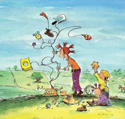 Ana, Guto e o Gato Dançarino  - Grupo Brinque-Book