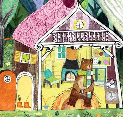 Cachinhos Dourados e um Urso Apenas  - Grupo Brinque-Book