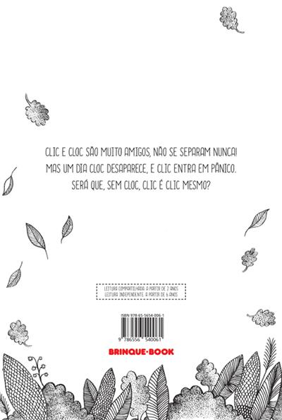 Clic e Cloc  - Brinque-Book