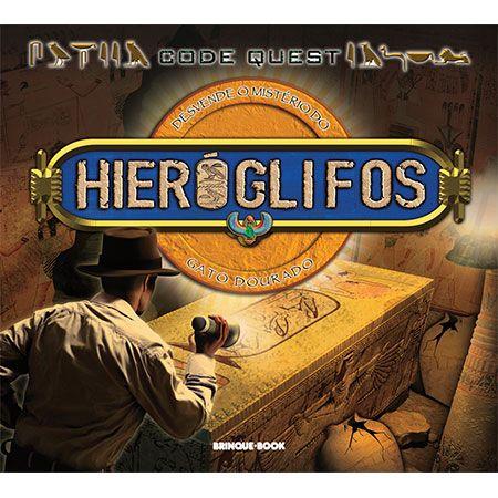 Code Quest - Hieróglifos  - Grupo Brinque-Book