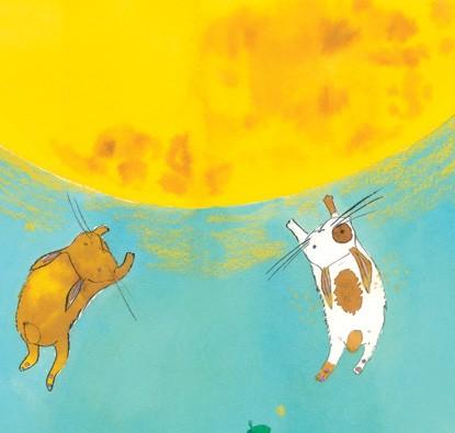 Coelhos Lunares  - Grupo Brinque-Book