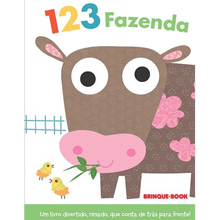 Coleção Dedoches - 1 2 3 Fazenda  - Grupo Brinque-Book