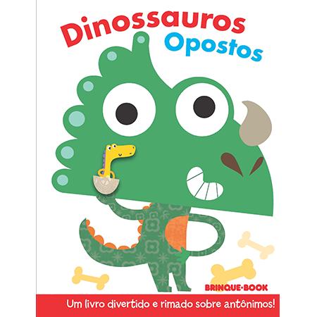 Coleção Dedoches - Dinossauros Opostos  - Grupo Brinque-Book