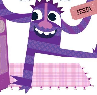 Coleção Dedoches - Monstros Multicoloridos  - Grupo Brinque-Book