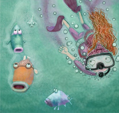 Dedé e os Tubarões  - Grupo Brinque-Book
