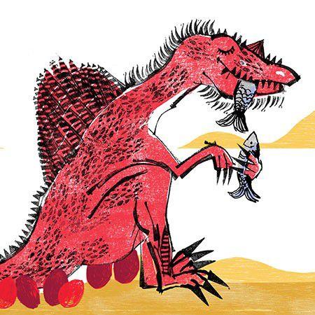 Dino e Saura  - Grupo Brinque-Book