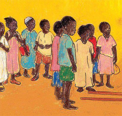 Escola de Chuva  - Grupo Brinque-Book