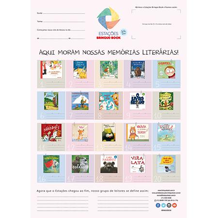 Estações Brinque-Book ? Kit 3/4 anos  - Grupo Brinque-Book