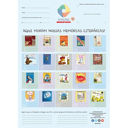 Estações Brinque-Book Kit 5/6 anos  - Grupo Brinque-Book